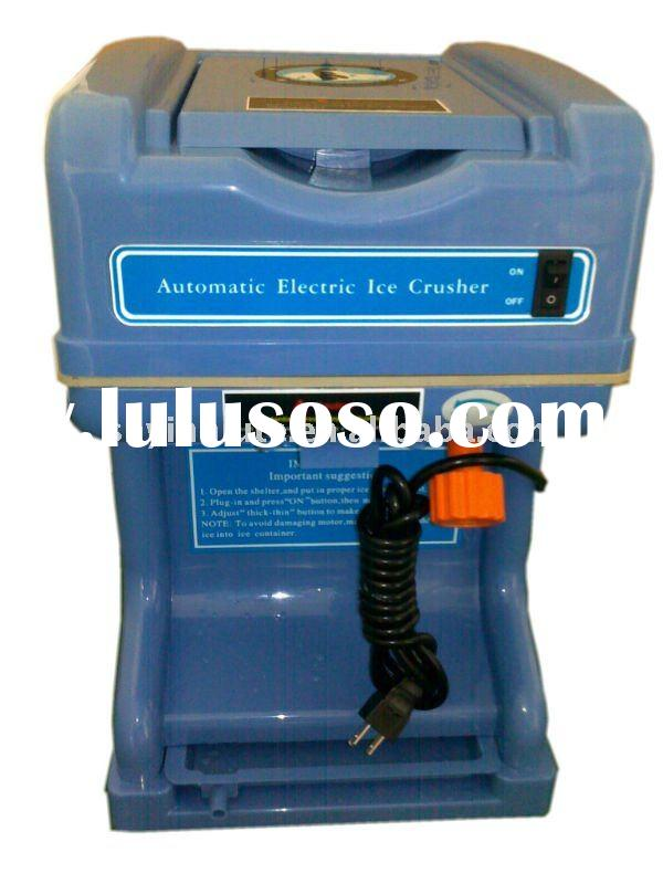 Bar ice crusher machine