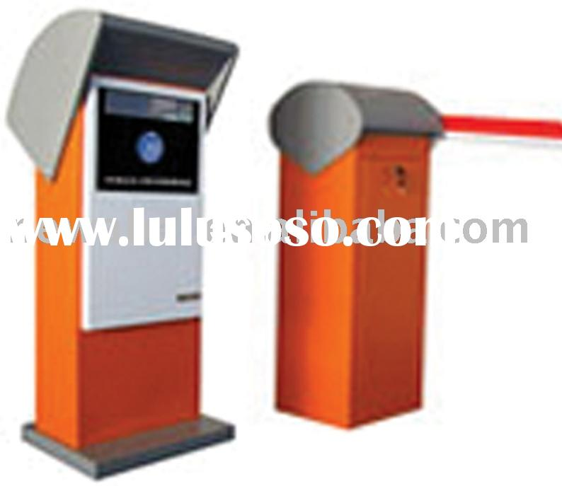 Barrier gate and controlling box for cars auto parking lot system