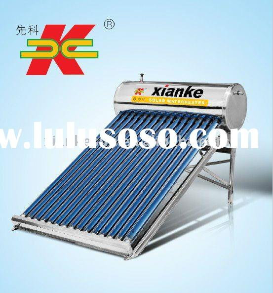 Bathroom integrative and pressure compact solar water heater