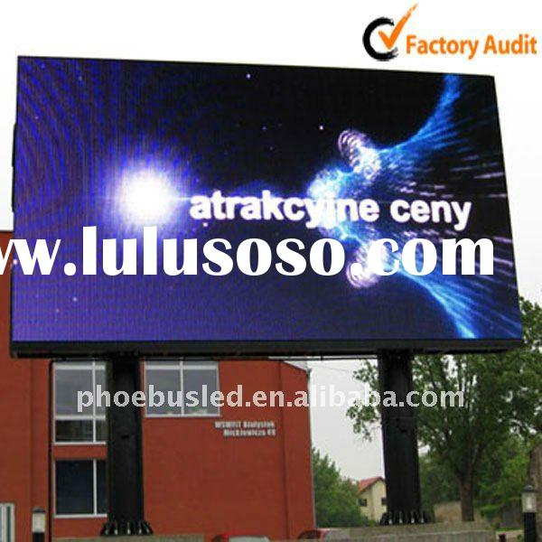Best Viewing distance 22m full color outdoor led signs