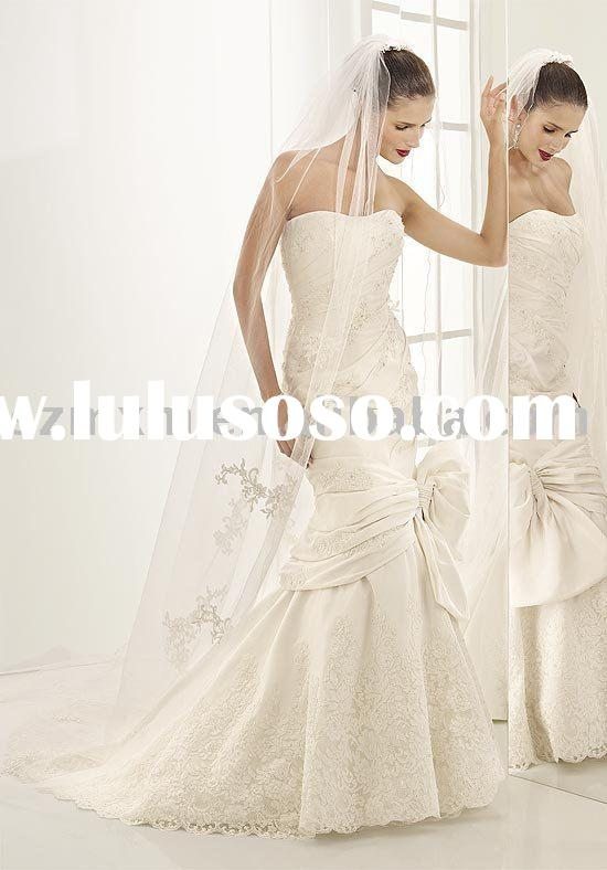 Bridal wedding gown WD0344/wedding dress/evening dress