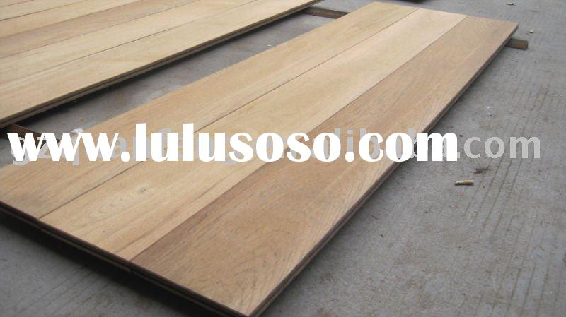 Burma teak unfinished hardwood flooring