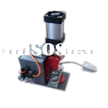 CE certificate pneumatic badge button pin making machine Shanghai China