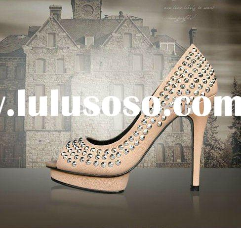 CLF054 designer women high heel dress shoes /sandals