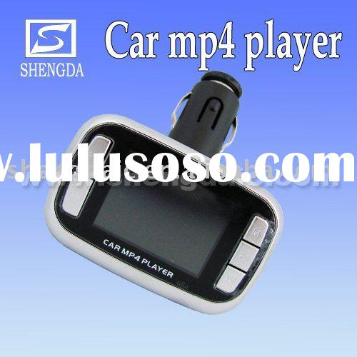 Car mp4 player with fm transmitter 1.8 inch Wireless