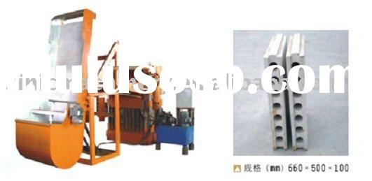 Casting Machine to Produce Gypsum Hollow Block to build Partition Wall