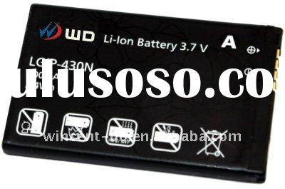 Cell phone battery Mobile phone battery For LGIP-430N KS360,KF300,KF330,KF240,KT520,LG Cookie