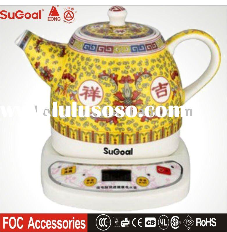 Ceramic Electric Kettle in 1L, 900W