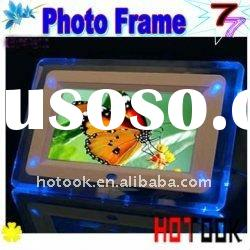 Christmas Gift ---7 inch Digital Photo Frame ,digital picture frame---Hot Selling
