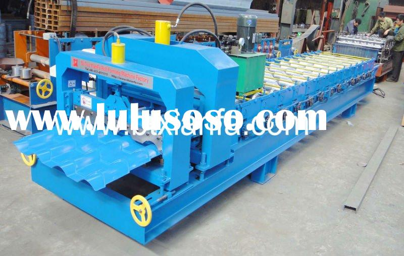 Classical Style Glazed Tile Roof Roll Forming Machine