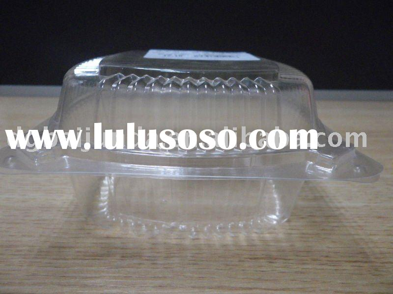 Clear PVC plastic cupcake boxes and packaging