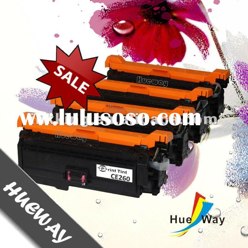 Compatible color toner cartridge HP CE260 with high capacity for CP4525