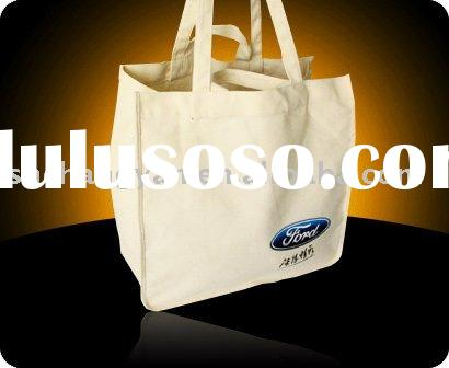 Cotton canvas tote bag with custom LOGO(COT-013)