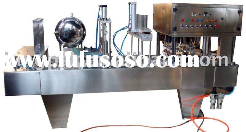 Cup Filling and Sealing Machine(yogurt filing,juice filling,drink filling)