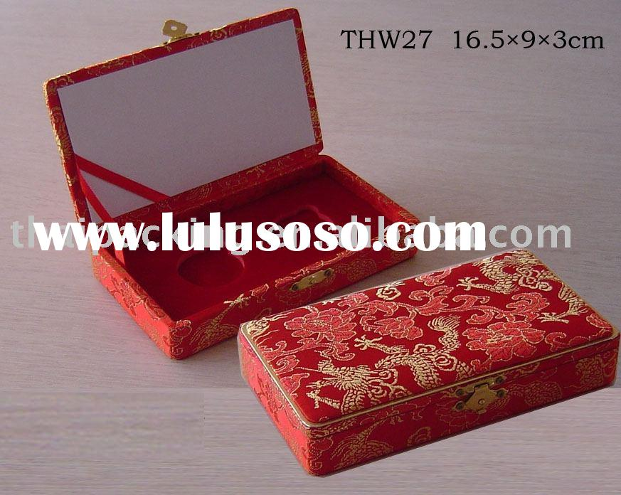 Cute Jewelry box,gift packing box,jewellery packaging box,wooden presentation box,Christmas box (THW