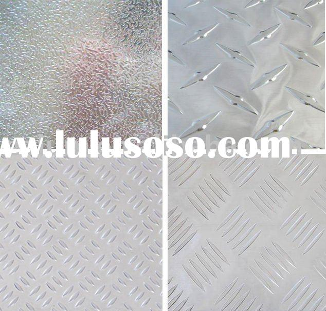 Diamond embossed aluminum sheet/plate/panel