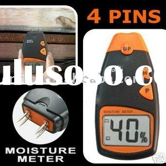 Digital LCD Wood Moisture Meter Tester 5% - 40% 4 Pin f/temperature meter/digital meter