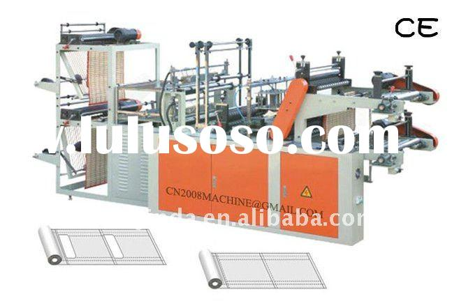 Double Layer Refuse Bag Making Machine