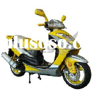 EEC/EPA DOT Approved Gas Motor Scooter with 4 Stoke 150cc Engine MS1521EEC/EPA
