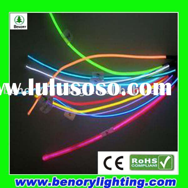 EL light high brightness colorful EL cable el wire electroluminescent wire el neon tape