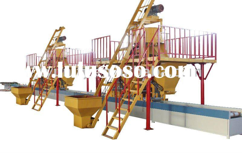 EPS and cement sandwich panel production line (TY-1200)