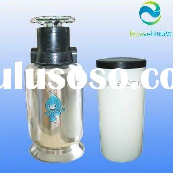 Easy operation and maintaince! residential water softener manual