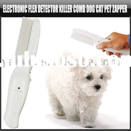 Electonic Flea detector Killer Comb Dog Cat Pet Zapper,YFP100A