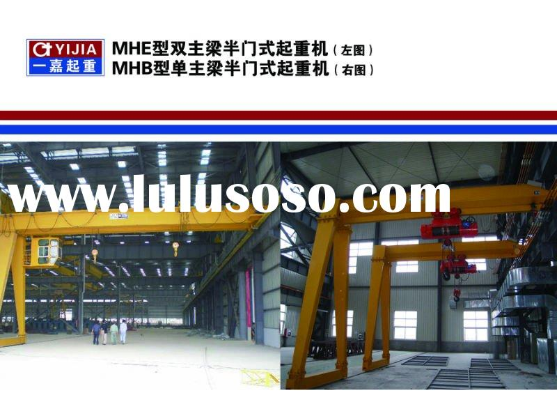 Electric Hoist Double Girder Gantry Crane