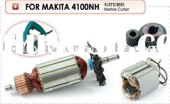 Electric Power Tool Spare Parts Spares Accessories Armature Stator Rotor Field Coil Marble Cutter Ti