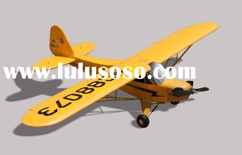 Electric rc hobby plane Piper J3 ,new rc EPO plane