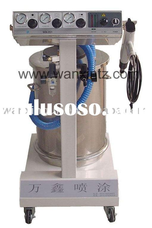 Electrostatic powder coating machine