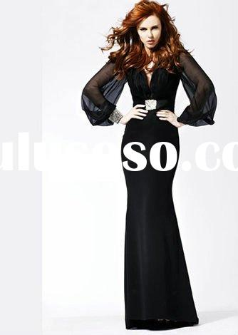 Elegant long sleeve evening gown BB-SH2340