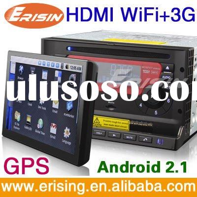 "Erisin 7"" Car DVD Andriod 3G Internet Google Maps online Navigating"