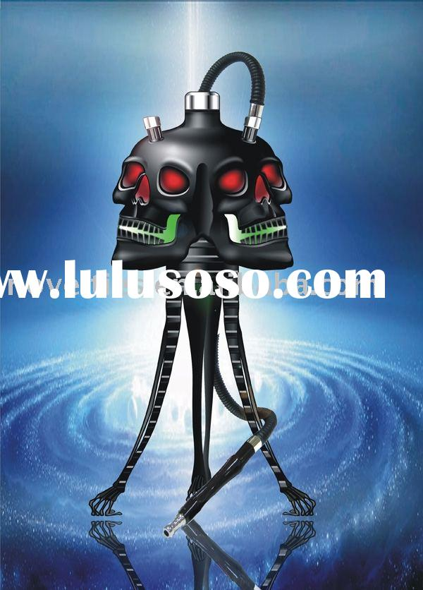 Exotic skull electronic hookah wholesale from china hookah manufacturer