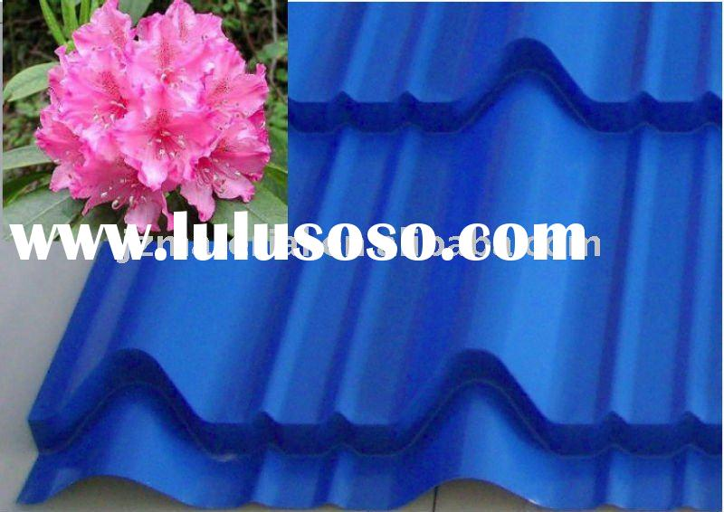 FASHIONABLE GLAZED COLORFUL ROOFING STEEL TILE SHEET/CORRUGATED SHEET TILE/CORRUGATED ROOFING STEEL