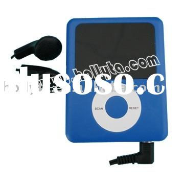 FM Auto Scan Radio with Earphone and Battery