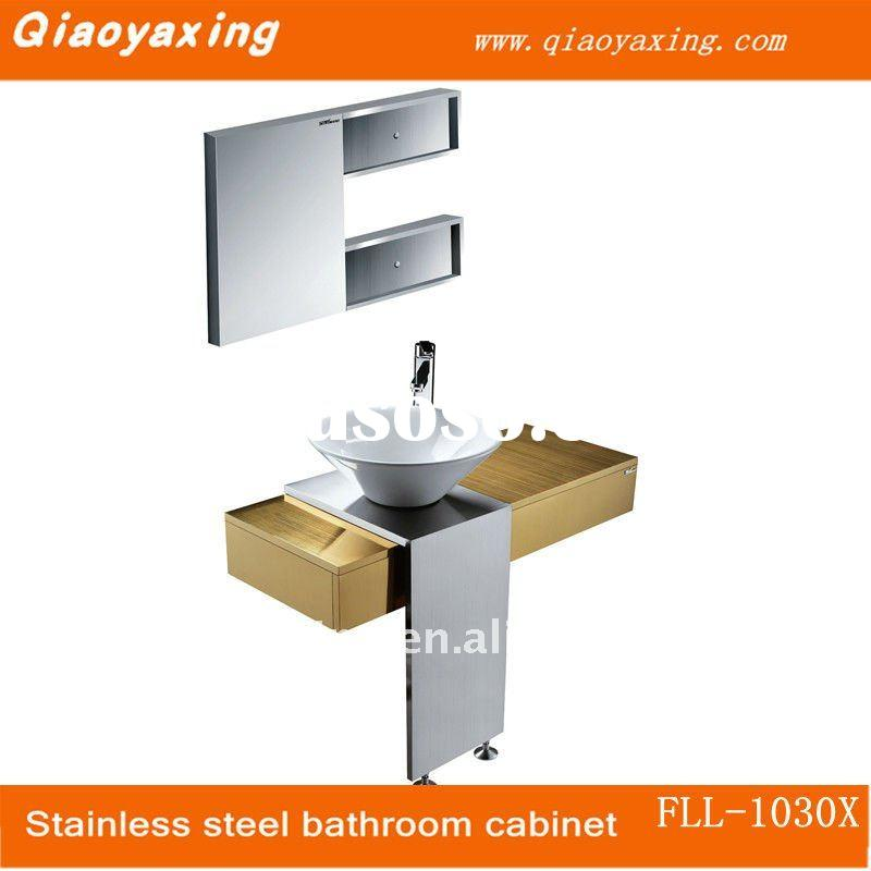 Fashion 304# stainless steel cabinet bathroom FLL-1030X