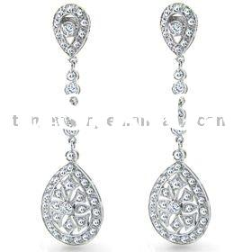 Fashion Chandelier Earrings Silver chandelier earring
