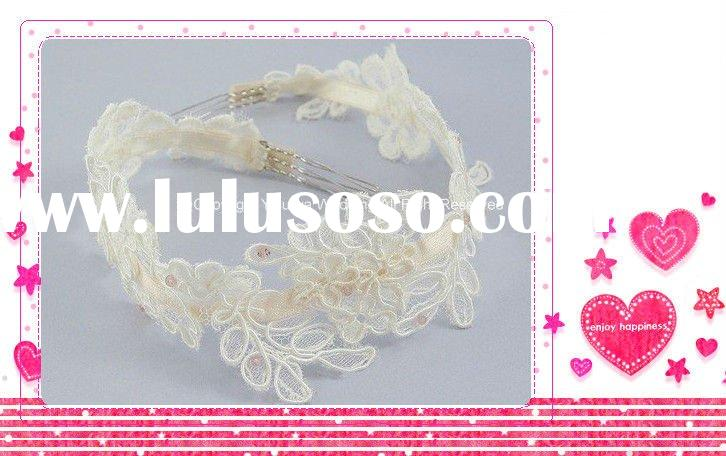 Fashion Elegant Vintage Lace Headband Wedding Veil