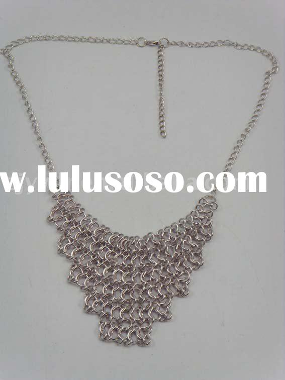 Fashion Metal BIB Necklace/Jewelry