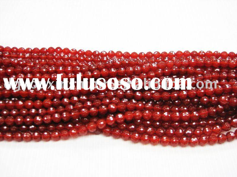 Fashion Natural newest gemstone loose beads Stone Red Agate/onyx jewelry