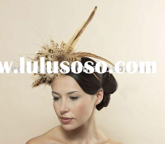 Fashion holiday decorative feather hair accessory FB003
