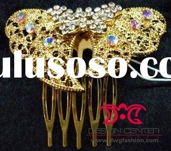 Fashion jewelry crystal hair comb