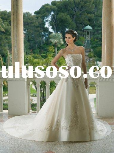 Fashion mk101-51 lebanon designer wedding dresses