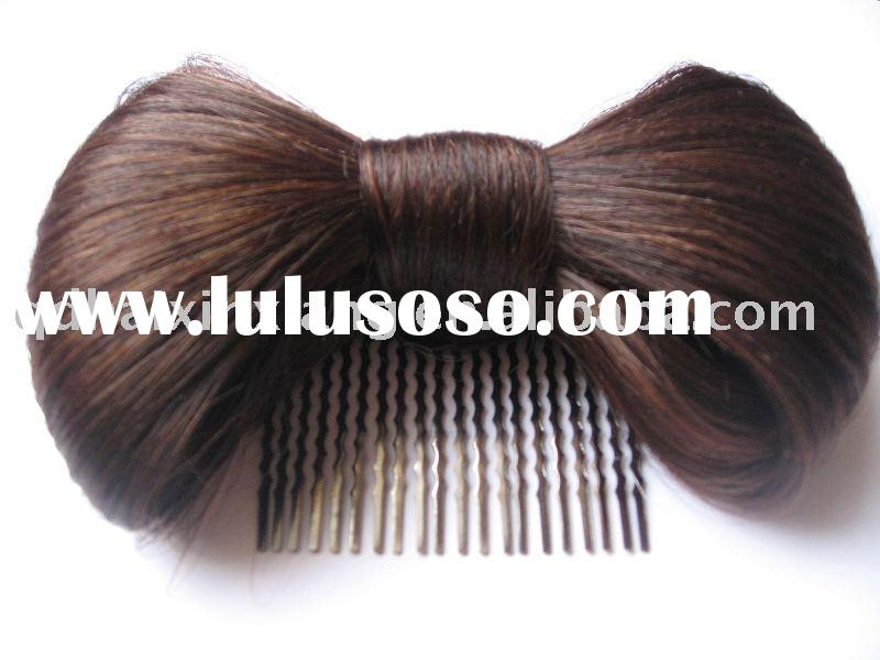 Fashion synthetic hair extensions: butterfly hair bows