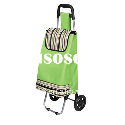 Fashion travel folding shopping caddy/trolley