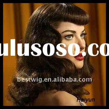 Fasion Brazilian Human hair extension full Lace Wigs