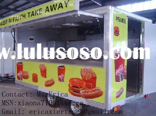 Fast food trailers,Small Snack Cabin catering trailers,cafe catering trailers