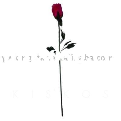 Feather rose,artificial rose,artificial flower