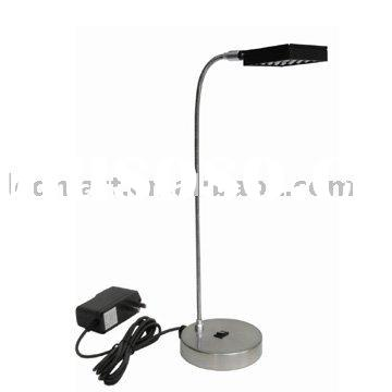 Flexible LED Desk Lamp AC DC or battery operated